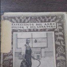 Libros antiguos: CATECISMO DEL AGRICULTOR Y DEL GANADERO. LOS LIBROS DE CONTABILIDAD AGRICOLA. Nº1. CALPE. 1921. . Lote 114977139