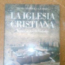 Libros antiguos: ATLAS CULTURALES DEL MUNDO LA IGLESIA CRISTIANA VEINTE SIGLOS DE HISTORIA CIRCULO DE LECTORES. Lote 114995555