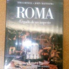 Libros antiguos: ATLAS CULTURALES DEL MUNDO ROMA LEGADO DE UN IMPERIO CIRCULO DE LECTORES PRECINTADO. Lote 114995855
