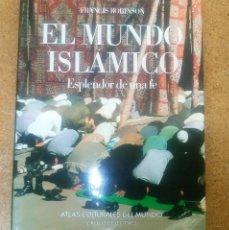 Libros antiguos: ATLAS CULTURALES DEL MUNDO EL MUNDO ISLÁMICO ESPLENDOR DE UNA FE CIRCULO DE LECTORES. Lote 114996299