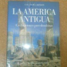 Libros antiguos: ATLAS CULTURALES DEL MUNDO LA AMÉRICA ANTIGUA CIVILIZACIONES PRECOLOMBINAS CIRCULO DE LECTORES . Lote 114996471