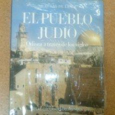 Libros antiguos: ATLAS CULTURALES DEL MUNDO EL PUEBLO JUDÍO ODISEA A TRAVÉS DE LOS SIGLOS CIRCULO DE LECTORES. Lote 114996547