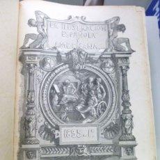 Libros antiguos: LA ILUSTRACIÓN ESPAÑOLA Y AMERICANA 1895 TOMO 1 AÑO XXXIX, NUM I- XLVIII AÑO COMPLETO. Lote 115004295
