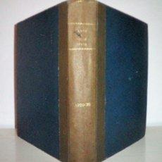 Libros antiguos: ARTS I BELLS OFICIS - AÑOS 1929-1930 - ILUSTRADOS·DIBUJO DE TORNÉ ESQUIUS.. Lote 115024591