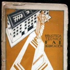 Libros antiguos: ANTE LA ESCUELA UNICA - HISPANICUS - F.A.E. DE EDUCACIÓN 1931. Lote 115034567