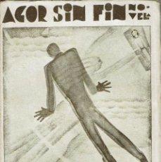 Libros antiguos: AGOR SIN FIN, POR JUAN CHABÁS. AÑO 1930. (6.3). Lote 115106059