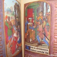 Libros antiguos: MOLEIRO. LIBRO DE HORAS DE JUANA I DE CASTILLA. (JUANA LA LOCA). 2005. 75 ILUMINACIONES PLENA PÁGINA. Lote 115120587