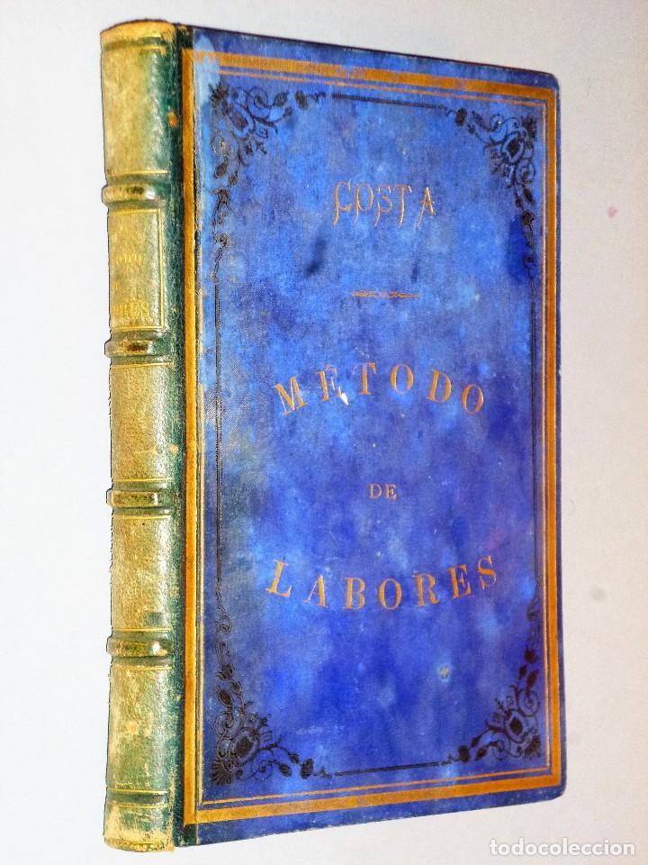 MÉTODO PRÁCTICO DE LABORES (Libros Antiguos, Raros y Curiosos - Bellas artes, ocio y coleccionismo - Otros)