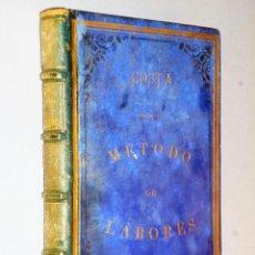 Libros antiguos: MÉTODO PRÁCTICO DE LABORES. Lote 115149711