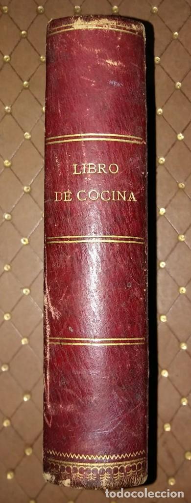1885 El Libro de las Familias. Novísimo manual práctico de cocina española, francesa y americana