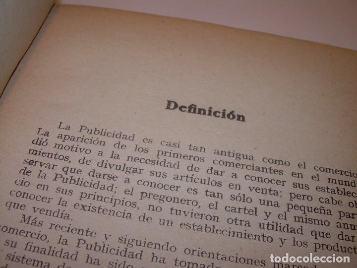 Libros antiguos: MANUAL PRACTICO DE PUBLICIDAD..DOS TOMOS EN UN MISMO LIBRO....AÑO. 1928..CON INFINADAD DE GRABADOS. - Foto 5 - 115229199