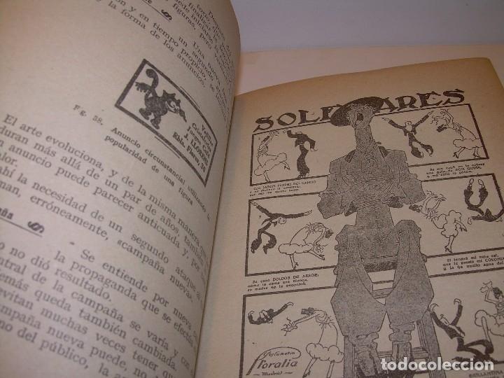 Libros antiguos: MANUAL PRACTICO DE PUBLICIDAD..DOS TOMOS EN UN MISMO LIBRO....AÑO. 1928..CON INFINADAD DE GRABADOS. - Foto 8 - 115229199