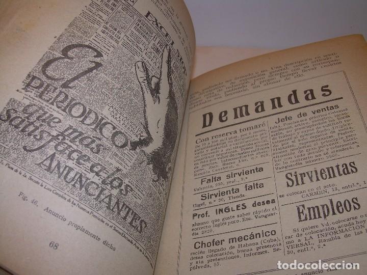 Libros antiguos: MANUAL PRACTICO DE PUBLICIDAD..DOS TOMOS EN UN MISMO LIBRO....AÑO. 1928..CON INFINADAD DE GRABADOS. - Foto 9 - 115229199