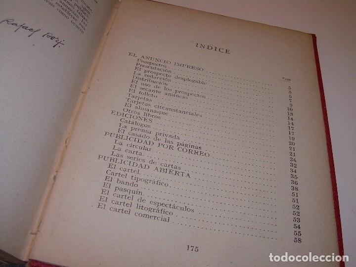 Libros antiguos: MANUAL PRACTICO DE PUBLICIDAD..DOS TOMOS EN UN MISMO LIBRO....AÑO. 1928..CON INFINADAD DE GRABADOS. - Foto 20 - 115229199