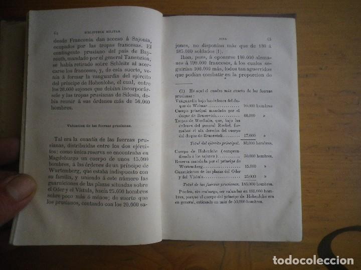 Libros antiguos: BIBLIOTECA MILITAR TOMO X SEPTIEMBRE 1877 TOMO XIII DICIEMBRE 1877 VER FOTOS - Foto 5 - 115246703