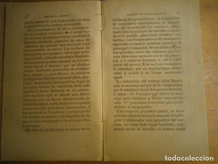 Libros antiguos: BIBLIOTECA MILITAR TOMO X SEPTIEMBRE 1877 TOMO XIII DICIEMBRE 1877 VER FOTOS - Foto 8 - 115246703