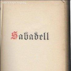 Libros antiguos: SABADELL. 6È CONGRÈS DE LA PREMSA CATALANO - BALEAR, 1928. 17X12CM. 239 P. TIRATGE 250 EX.. Lote 115276235