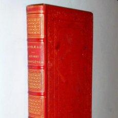 Libros antiguos: OEUVRES COMPLÈTES DE BOILEAU-DESPRÉAUX. Lote 115280343