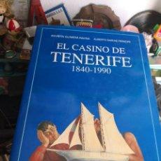 Libros antiguos: EL CASINO DE TENERIFE - 1840 - 1990 - AGUSTÍN GUIMERÁ RAVINA - ALBERTO DARIAS PRÍNCIPE . Lote 115282595