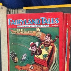 Libros antiguos: FAIRYLAND TALES KIDDIES FAVOURITE PAPER 8 NUMEROS AÑOS 34 35 36 21,5X18,5CMS. Lote 115286571