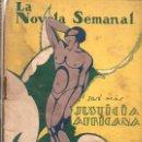 Libros antiguos: JOSE MAS : JUSTICIA AFRICANA (LA NOVELA SEMANAL, 1925). Lote 115292211