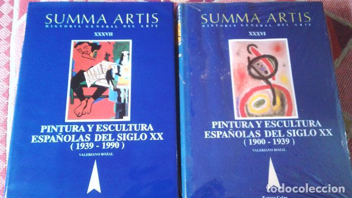 2 TOMOS -SUMMA ARTIS -PINTURA Y ESCULTURA ESPAÑOLAS 1900-1990 (Libros Antiguos, Raros y Curiosos - Bellas artes, ocio y coleccionismo - Otros)