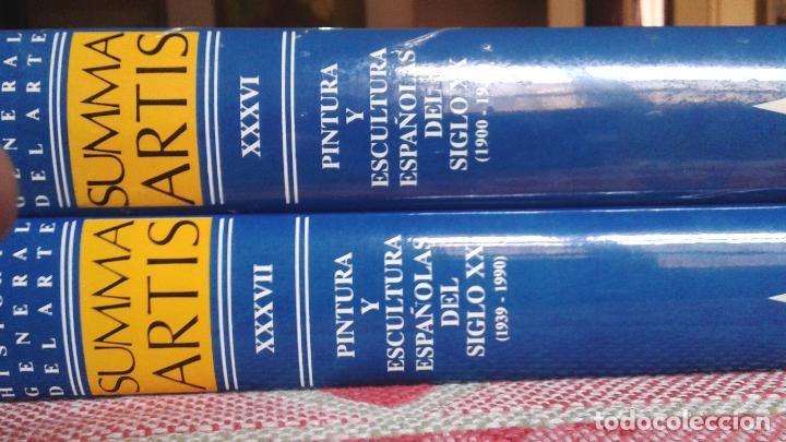Libros antiguos: 2 tomos -summa artis -pintura y escultura españolas 1900-1990 - Foto 2 - 115293963