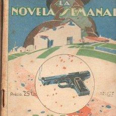 Libros antiguos: DIEGO SAN JOSÉ : BUENA BODA (LA NOVELA SEMANAL, 1923). Lote 115294947