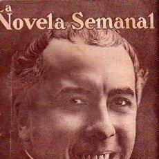 Libros antiguos: EDUARDO ZAMACOIS : MEMORIAS DE UN VAGÓN DE FERROCARRIL (LA NOVELA SEMANAL, 1921). Lote 115323459