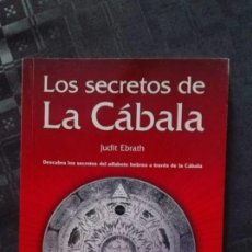 Libros antiguos: LOS SECRETOS DE LA CABALA. Lote 115345379