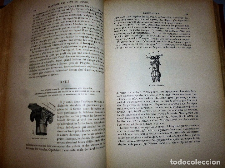 Libros antiguos: GRAMMAIRE DES ARTS DU DESSIN. ARCHITECTURE, SCULPTURE, PEINTURE - Foto 3 - 115346611