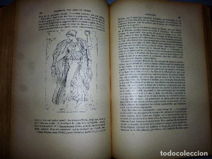 Libros antiguos: GRAMMAIRE DES ARTS DU DESSIN. ARCHITECTURE, SCULPTURE, PEINTURE - Foto 6 - 115346611