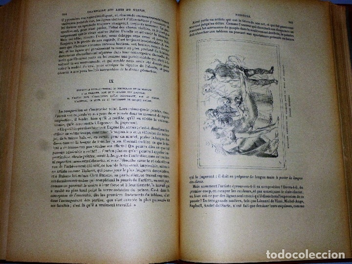 Libros antiguos: GRAMMAIRE DES ARTS DU DESSIN. ARCHITECTURE, SCULPTURE, PEINTURE - Foto 8 - 115346611