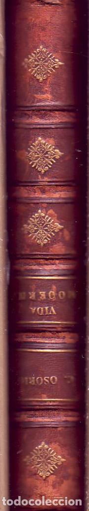 Libros antiguos: Vida moderna (Manchas de color). Carlos Ossorio y Gallardo, La España editorial, 1890 - Foto 5 - 115382031