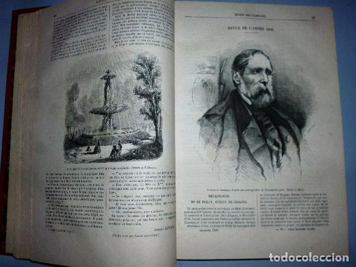 Libros antiguos: MUSÉE DES FAMILLES. LECTURES DU SOIR. TOME VINGT-HUITIÈME. 1860-1861. - Foto 4 - 115383635