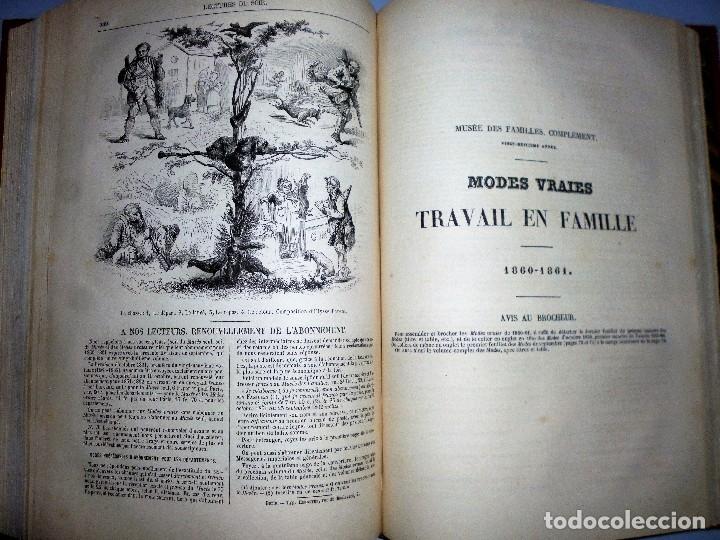 Libros antiguos: MUSÉE DES FAMILLES. LECTURES DU SOIR. TOME VINGT-HUITIÈME. 1860-1861. - Foto 7 - 115383635