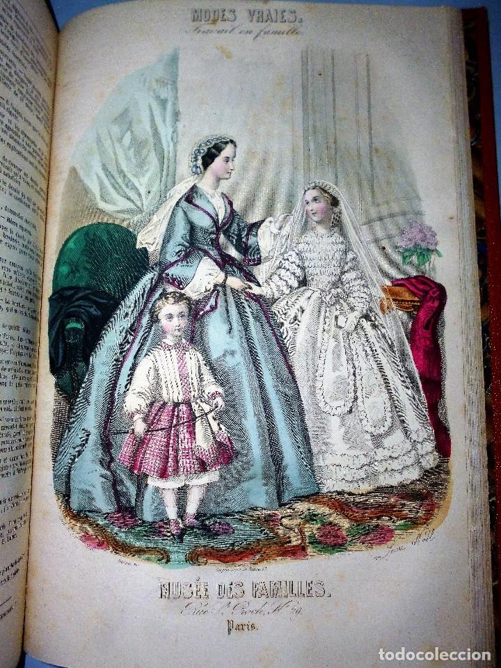 Libros antiguos: MUSÉE DES FAMILLES. LECTURES DU SOIR. TOME VINGT-HUITIÈME. 1860-1861. - Foto 12 - 115383635