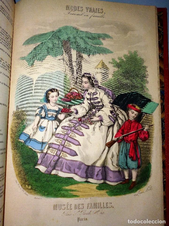 Libros antiguos: MUSÉE DES FAMILLES. LECTURES DU SOIR. TOME VINGT-HUITIÈME. 1860-1861. - Foto 14 - 115383635