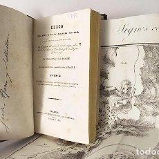 Libros antiguos: CURSO DEL ARTE Y DE LA HISTORIA MILITAR. TOMO II (1833) 3 GRABADOS DESPLEGABLES. PIEL ESPAÑOLA. Lote 115384283