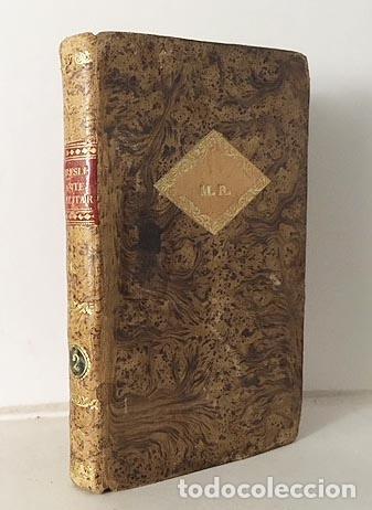 Libros antiguos: Curso del Arte y de la Historia Militar. Tomo II (1833) 3 grabados desplegables. Piel española - Foto 3 - 115384283