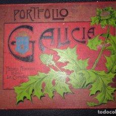 Libros antiguos: PEDRO FERRER. PORTAFOLIO DE GALICIA. LA CORUÑA 1904 PRIMERA EDICION PORTAFOLIO GALICIA,. Lote 115385059