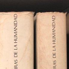 Libros antiguos: LAS GRANDES CULTURAS DE LA HUMANIDAD-TURNER-2TOMOS(40€). Lote 115408375