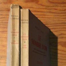 Libros antiguos: LE NOMBRE D´OR- LOS RITMOS,LOS RITOS(30€). Lote 115408479