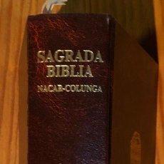 Libros antiguos: SAGRADA BIBLIA (30€). Lote 115409163