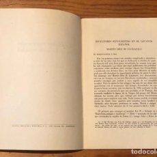 Libros antiguos: ESCULTORES RENACENTISTAS EN EL LEVANTE ESPAÑOL(30€). Lote 115414687