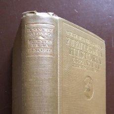 Libros antiguos: FUENTES DE LA HISTORIA ESPAÑOLA E HISPANOAMERICANA-SANCHEZALONSO (25€). Lote 115419603