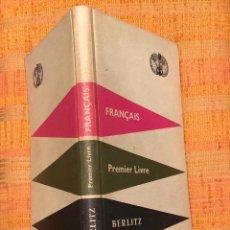 Libros antiguos: BERLITZ PREMIERLIVRE(10€). Lote 115421491
