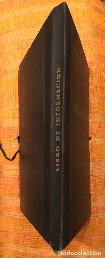 LIBRO DE INFORMACION(10€) (Libros Antiguos, Raros y Curiosos - Ciencias, Manuales y Oficios - Otros)