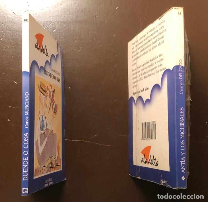 Libros antiguos: ALA DELTA-3 CUENTOS(12€) - Foto 2 - 115423539