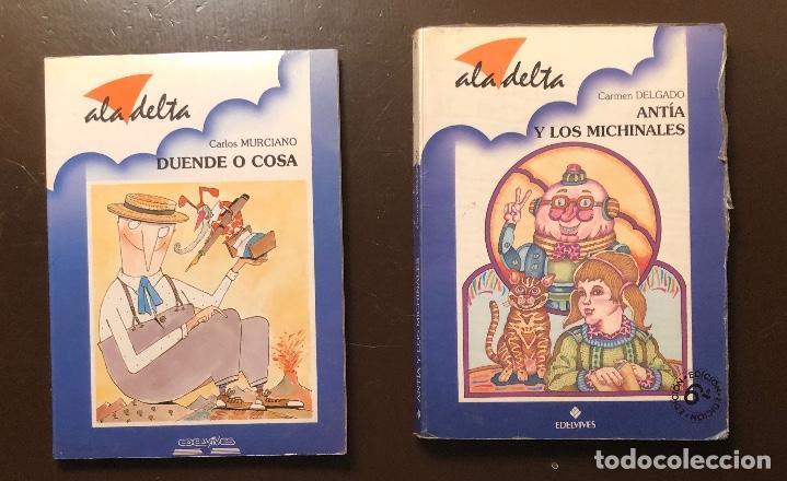 Libros antiguos: ALA DELTA-3 CUENTOS(12€) - Foto 4 - 115423539